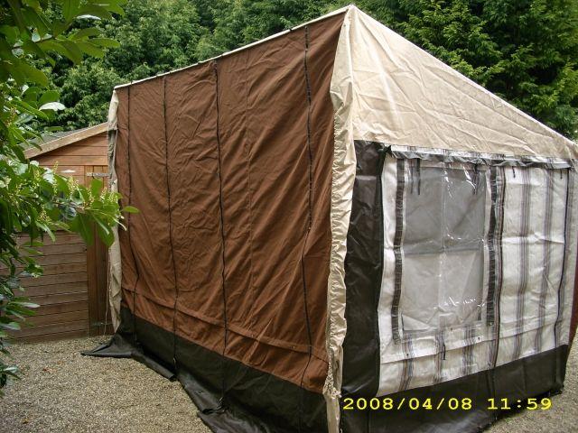 freistehendes wohnmobil vorzelt 3 20x2 60 camping. Black Bedroom Furniture Sets. Home Design Ideas